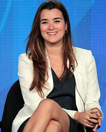 Cote de Pablo plays Ziva David