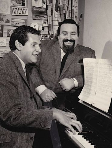 Mort Shuman and Doc Pomus (right).