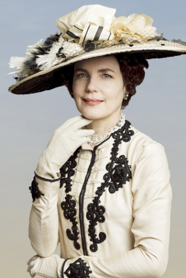 Lady Cora, played by Elizabeth McGovern.