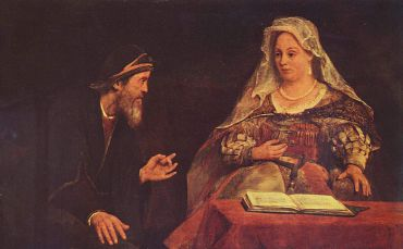 ?Esther and Mordecai? by Aert de Gelder, 1685.