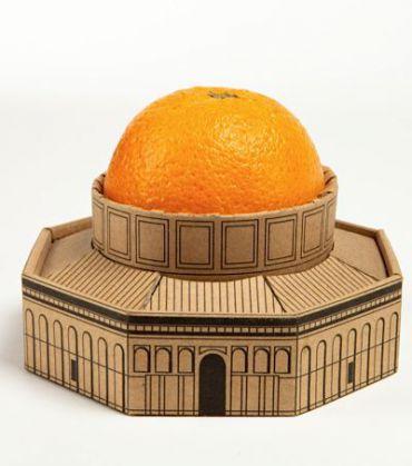 ?The Golden Dome? by Ellia Nattel. Image courtesy of The Jerusalem Design Center.