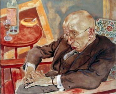 ?Poet Max Herrmann-Neisse,? one of the three disputed works by George Grosz.