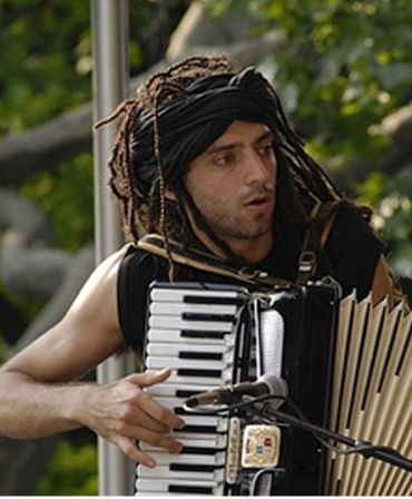 Idan Raichel, not at the opera.