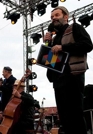Krakow Jewish Culture Festival founder Janusz Makuch