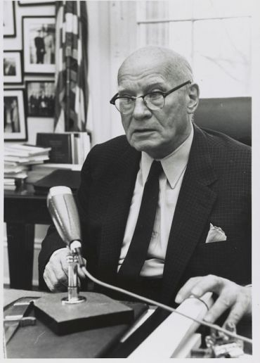 The Honorable Emanuel Celler, chairman, Judiciary Committee U.S. House of Representatives. From the Emanuel Celler Papers, Manuscript Division, Library of Congress.