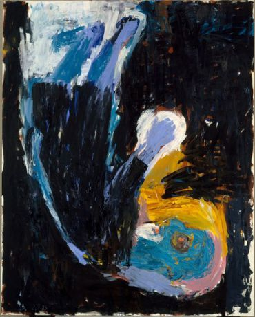 Georg Baselitz, ?Man of Faith,? 1983.