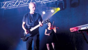 DJ turned pop star: Moby performing in Tel Aviv on July 12.