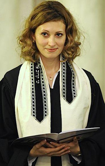 Alina Treiger at her November 4 ordination.