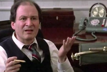 """David Margulies as Mayor Lenny Clotch in 1984's """"Ghostbusters."""""""