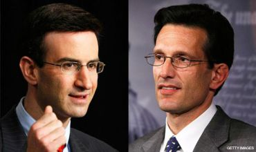 Twins: Orszag, left, and Cantor