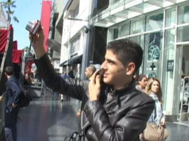 ?Ajami? actor Fouad Habash, on Hollywood Boulevard