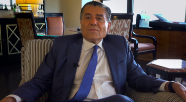 "Haim Saban speaks about political donations in the HBO documentary ""Meet the Donors,"" by filmmaker Alexandra Pelosi."