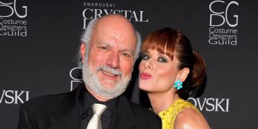 Jim Burrows and Debra Messing
