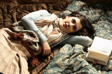 Ellie Kendrick as Anne Frank (click to enlarge)