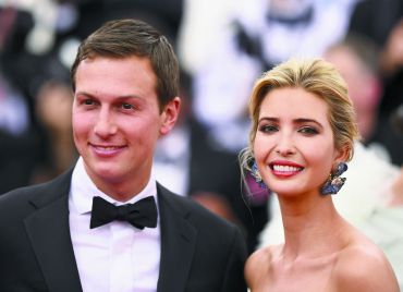 Politically Presentable:  Jared Kushner and Ivanka Trump attend a benefit for the New York Metropolitan Museum of Art last May.