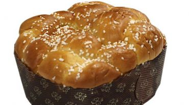 Sweet Loaf: Sugar-topped brioche challah from Las Delicias Patisserie is part bread and part dessert.