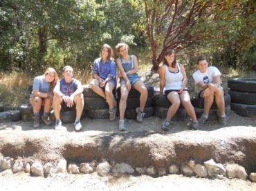 Natural Building at Kibbutz Yarok
