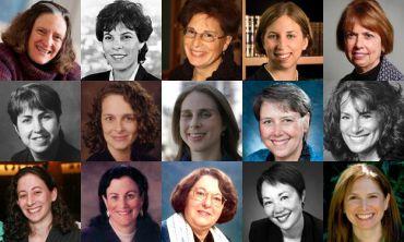 Members of the inaugural Sisterhood 50 list (click to enlarge)