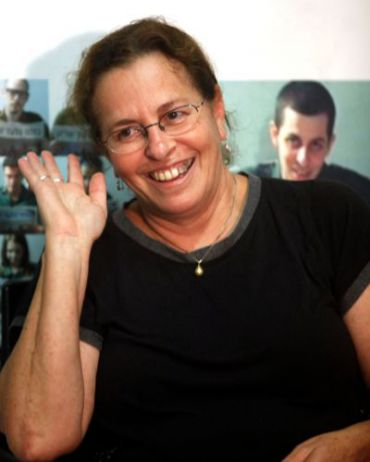 Aviva Shalit the night a deal for her son?s release was announced.