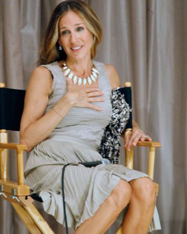 SJP at a screening of ?I Don?t Know How She Does It.?