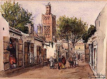 A Street in Tlemcen.