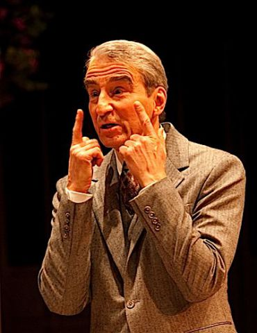 Sam Waterston as Bernard Berenson in the Long Wharf Theater production of ?The Old Masters? from January 2011.