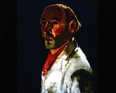 Self-portrait: Among many other inspirations, Josef Herman used himself as a model.