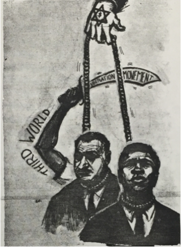 Drawing from the SNCC Newsletter
