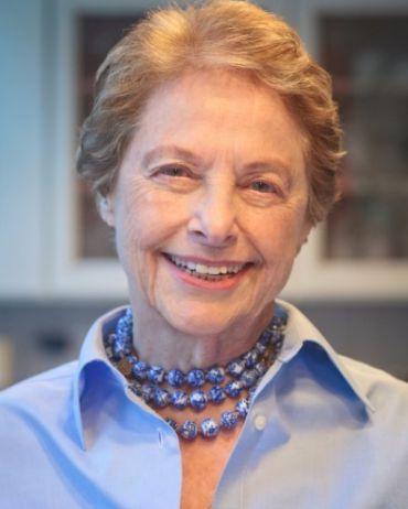 Award-winning author and former New York Times restaurant critic Mimi Sheraton.