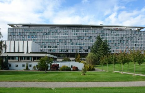 World Health Organization headquarters in Geneva.