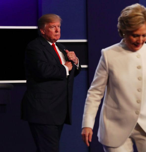 The third, and nastiest, of the 2016 presidential debates.