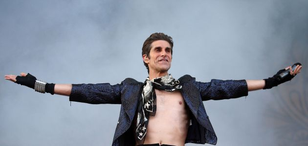 Lollapalooza founder Perry Farrell of Jane's Addiction