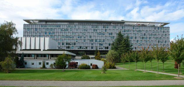 World Health Organization headquarters in Geneva.
