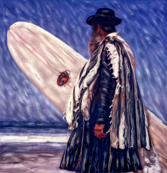 A portrait of Rabbi Shifren