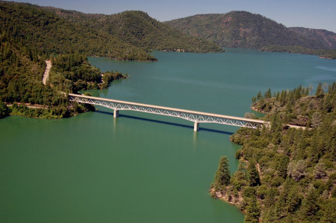 Lake Oroville, California, in July 2011.