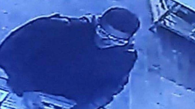 Security video captured image of gunman in Tel Aviv shooting.