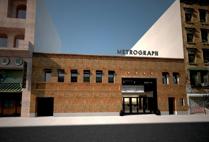 "**New Theater, Old Style:"" The Metrograph is located on Ludlow Street on the Lower East Side of Manhattan."