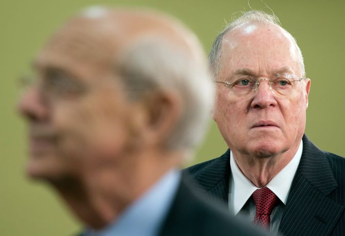 Supreme Court Justice Anthony Kennedy wrote the majority opinion in the landmark decision upholding gay marriage.