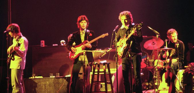 The Band and Bob Dylan