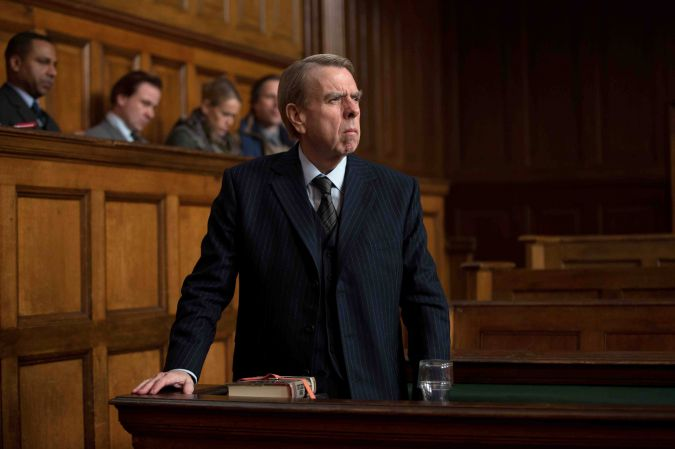 Casting a Spall: Timothy Spall plays Holocaust denier David Irving in 'Denial.'