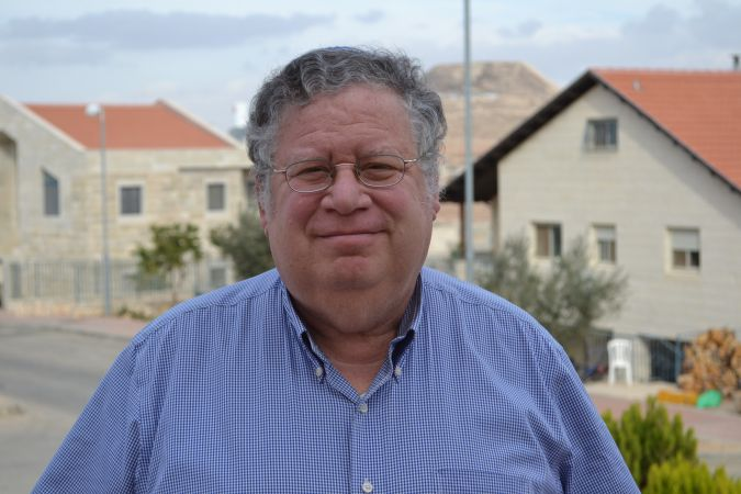 """Bobby Brown, a settler in Tekoa, said he was """"cautiously optimistic"""" about what Donald Trump could do for settlers."""