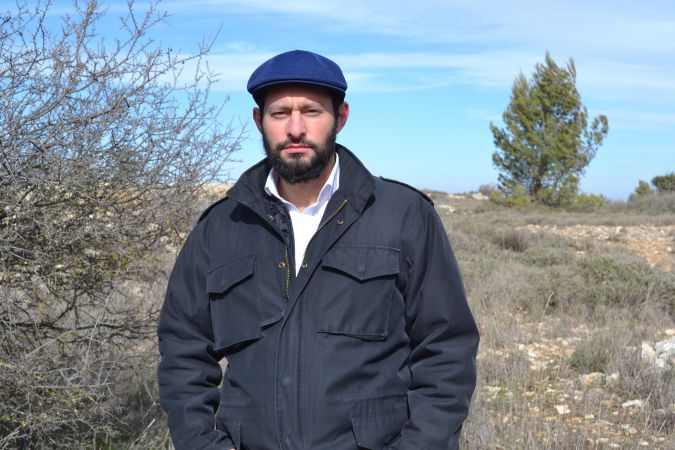 Yehuda HaKohen has lived in Beit El since 2009.