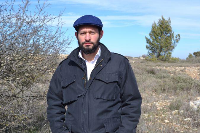 Yehuda HaKohen has lived in Beit El since 2009.