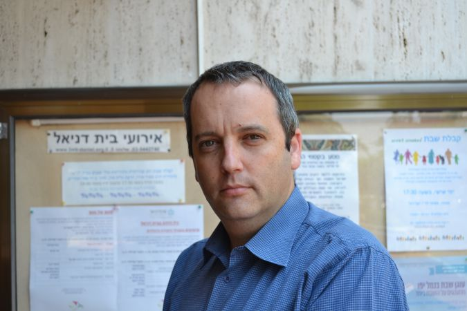 Reformer: Gilad Kariv, executive director of the Israel Movement for Reform and Progressive Judaism.