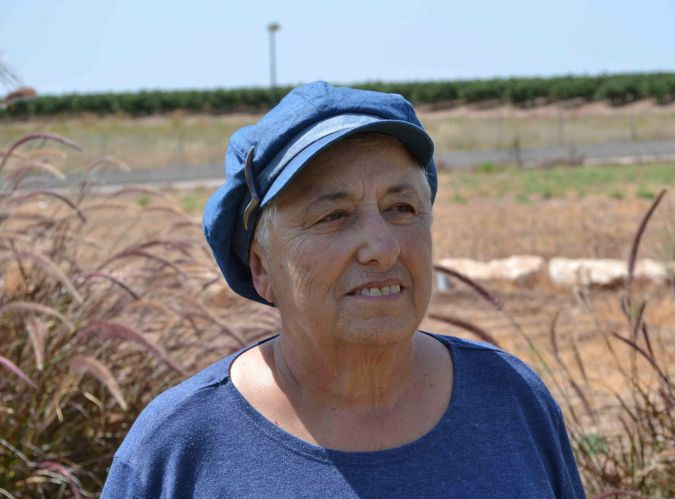 New Home: Anita Tucker, a 69-year-old former Gaza settler, now lives in central Israel.