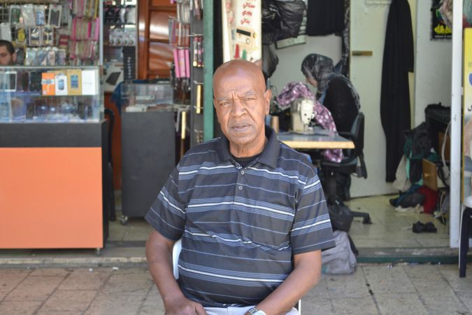 Old City Docent: Ali Jiddah, a former terrorist turned Jerusalem tour guide, sees the current violence as a result of the occupation, saying, 'Palestinians got fed up. They are so, so angry.' He views soldiers and settlers as 'legitimate targets.'