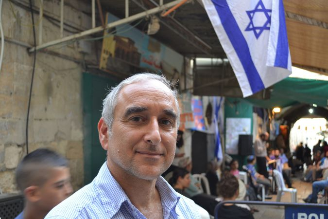 Moving In: Daniel Luria, executive director of Ateret Cohanim, says his group's controversial property purchases and efforts to bring Jews into the Muslim Quarter promote coexistence.
