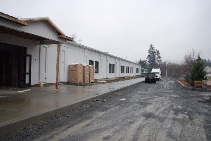 A former warehouse in Bloomingburg will soon be ready to house a Satmar yeshiva for boys.