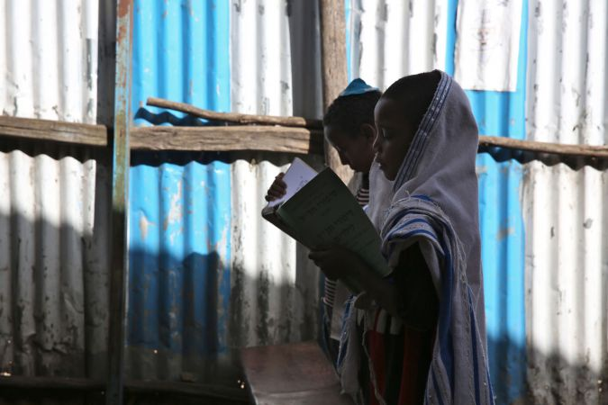 Hatikvah Jewish Community. Gondar, Ethiopia. March 2015.