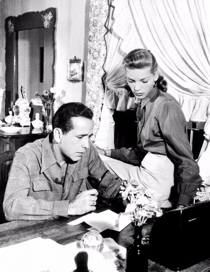 At Warner Brothers: In his first job, Sam Adams bumped into Humphrey Bogart and Lauren Bacall — one time, literally.